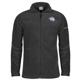 Columbia Full Zip Charcoal Fleece Jacket-Spirit Mark