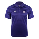 Adidas Climalite Purple Jaquard Select Polo-Spirit Mark