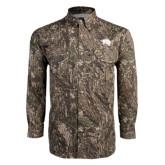 Camo Long Sleeve Performance Fishing Shirt-Spirit Mark