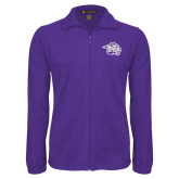 Fleece Full Zip Purple Jacket-Spirit Mark