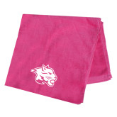 Pink Beach Towel-Spirit Mark