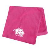 Pink Beach Towel-Spirit Mark