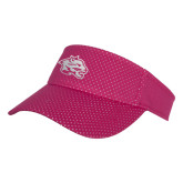 Pink Athletic Mesh Visor-Spirit Mark
