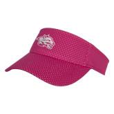 Pink Athletic Mesh Visor-Spirit Mark