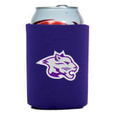 Collapsible Purple Can Holder-Spirit Mark