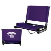 Stadium Chair Purple-Official Logo