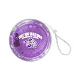 Light Up Purple YoYo-Official Logo