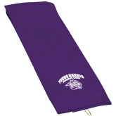 Purple Golf Towel-Official Logo