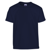 Youth Navy T Shirt-Select-A-Logo