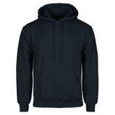 Navy Fleece Hood-Select-A-Logo