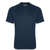 Under Armour Navy Tech Tee-Select-A-Logo