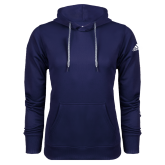 Adidas Climawarm Navy Team Issue Hoodie-Select-A-Logo
