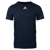 Adidas Navy Logo T Shirt-Select-A-Logo