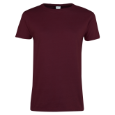 Ladies Maroon T Shirt-Select a Department