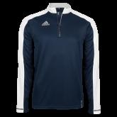 Adidas Modern Navy Varsity 1/4 Zip-Select-A-Logo