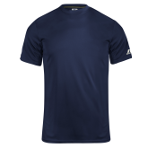 Russell Core Performance Navy Tee-Select-A-Logo
