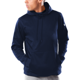 Under Armour Navy Armour Fleece Hoodie-Select-A-Logo