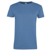 Ladies Arctic Blue T Shirt-Select-A-Logo