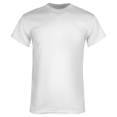 White T Shirt-Select-A-Logo