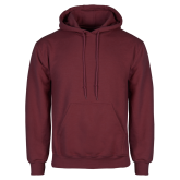 Maroon Fleece Hoodie-Select-A-Logo