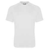 Under Armour White Tech Tee-Select-A-Logo