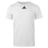Adidas White Logo T Shirt-Select a Jurisdiction