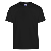 Youth Black T Shirt-Select a Department