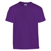 Youth Purple T Shirt-Select-A-Logo