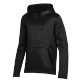 Youth Under Armour Black Fleece Hoodie-Select-A-Logo