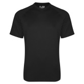 Presbyterian Under Armour Black Tech Tee-Select-A-Logo