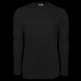 Under Armour Black Long Sleeve Tech Tee-Select-A-Logo