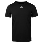 Adidas Black Logo T Shirt-Select-A-Logo