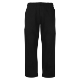 Black Fleece Open Bottom Pant-Select-A-Logo