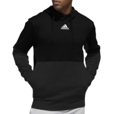 Adidas Black Team Issue Hoodie-Select-A-Logo