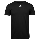 Adidas Climalite Black Ultimate Performance Tee-Select-A-Logo
