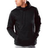 Under Armour Black Armour Fleece Hoodie-Select-A-Logo