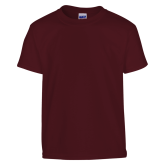 Youth Maroon T Shirt-Select-A-Logo