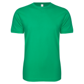 Next Level SoftStyle Kelly Green T Shirt-Select-A-Logo