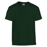 Youth Dark Green T Shirt-Select-A-Logo