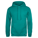 Champion Teal Fleece Hood-Select-A-Logo