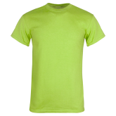 Lime Green T Shirt-Select-A-Logo