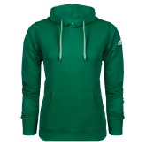 Adidas Climawarm Dark Green Team Issue Hoodie-Select-A-Logo