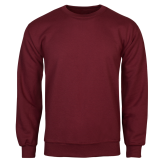 Maroon Fleece Crew-Select-A-Logo