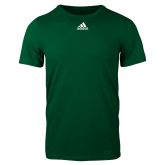 Adidas Dark Green Logo T Shirt-Select-A-Logo