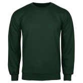 Dark Green Fleece Crew-Select-A-Logo
