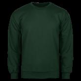 Dark Green Fleece Crew-Select-A-Logo