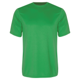 Performance Kelly Green Tee-Select-A-Logo