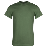 Military Green T Shirt-Select-A-Logo