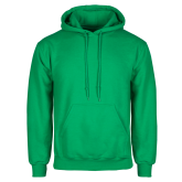 Kelly Green Fleece Hood-Select-A-Logo