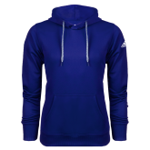 College Adidas Climawarm Royal Team Issue Hoodie-Select-A-Logo